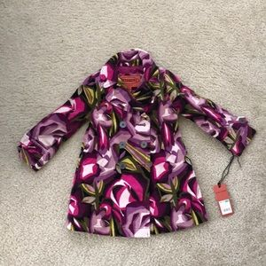 Missoni for target toddler girls floral trench